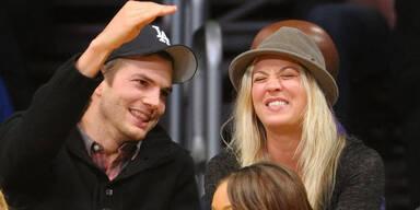Ashton Kutcher: Flirt mit Kaley Cuoco?
