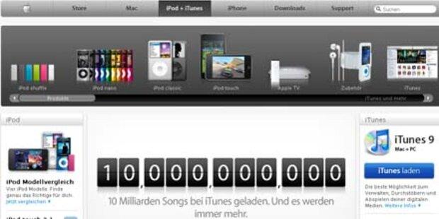 iTunes: 10 Milliarden (!) Songs verkauft