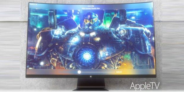 So könnte der Apple-Fernseher aussehen
