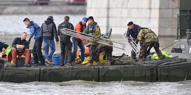 Donau Bootsunglück Budapest Schiff Unfall