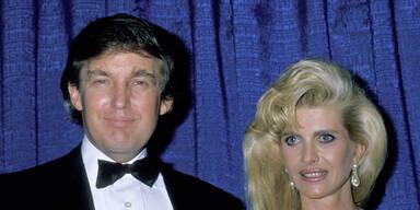 So erfuhr die erste Mrs. Trump vom Aus ihrer Ehe