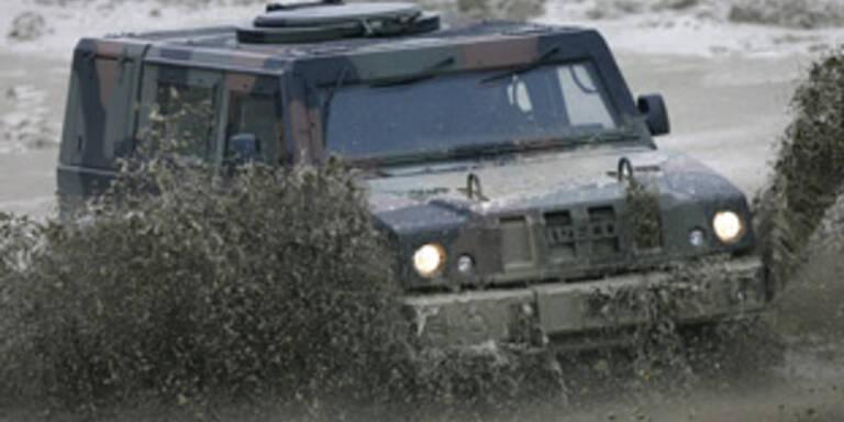 150 neue Fahrzeuge für unser Heer