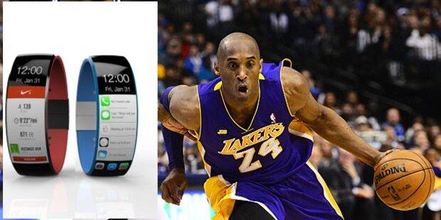Sport-Superstars testen Apples iWatch