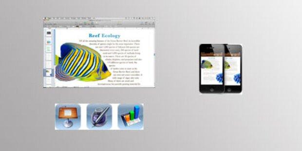 iWork-Apps kommen jetzt aufs iPhone