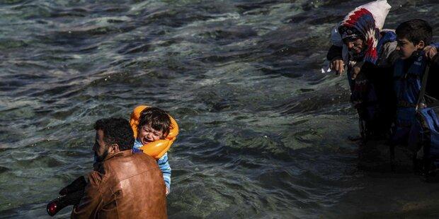 Sechs Kinder in der Ägäis ertrunken