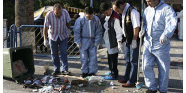 Ein Toter bei Sprengstoff-Anschlägen in Izmir
