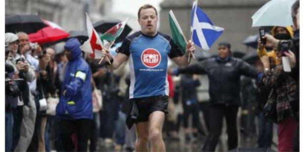 Brite läuft 43 Marathons in 51 Tagen
