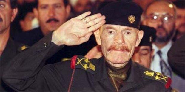 Saddam-Vize Izzat Ibrahim endlich gefasst