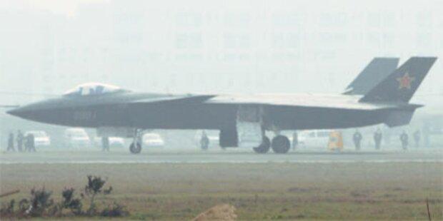 China testet Tarnkappen-Bomber