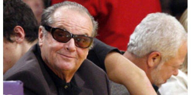 Jack Nicholson prahlt mit seinem Sex