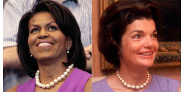 Michelle Obama ist so stylish wie Jackie