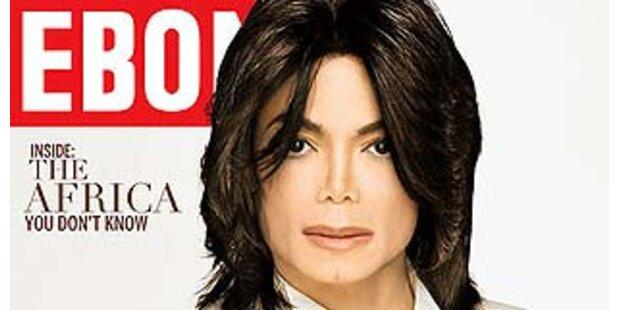 Michael Jackson hat weiße Hautfarbe