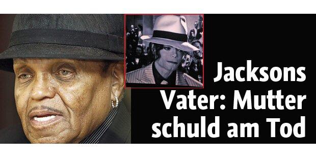 Jacko-Vater: Mutter für Tod verantworlich