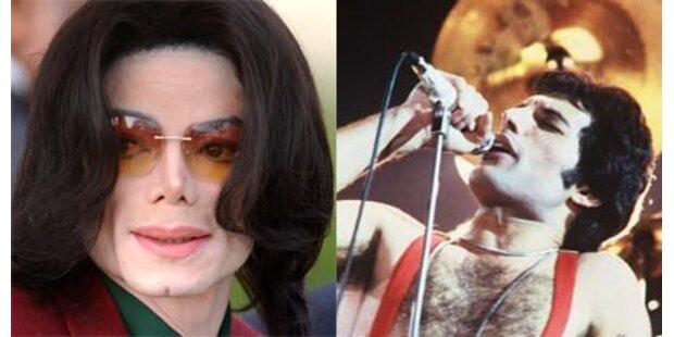 Freddie und Michael im Duett