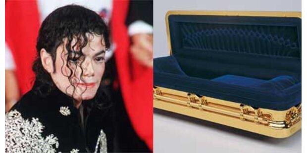 Jackson soll in Goldsarg begraben werden