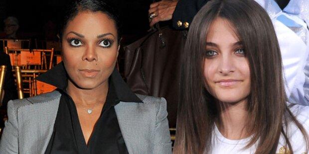Janet Jackson hasst ihre Nichte Paris
