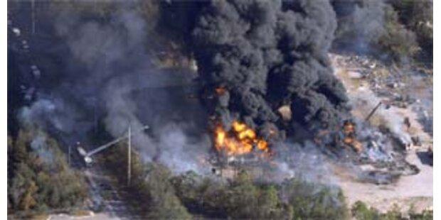 Vier Tote bei Explosionen in US-Chemiewerk