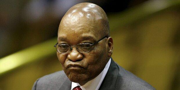 Südafrikas Präsident übersteht Misstrauensvotum