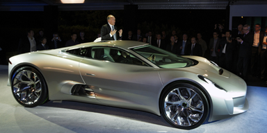 Jaguar C-X75 - Sportwagen der Zukunft