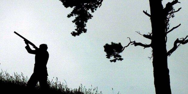 Jäger erlegt Hirsch direkt neben Siedlung