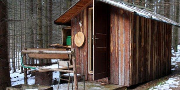 Zwei Tote in Jagdhütte gefunden