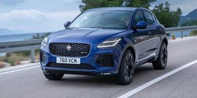 Jaguar verpasst dem E-Pace ein Facelift