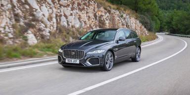 Jaguar verpasst dem XF (Sportbrake) ein Facelift