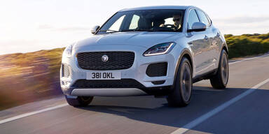 Jaguar E-Pace mit neuem Einstiegs-Benziner