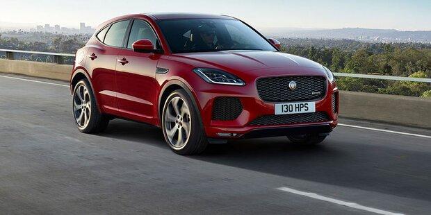 Jaguar E-Pace startet als First Edition