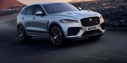 Jaguar bringt 550 PS starken F-Pace