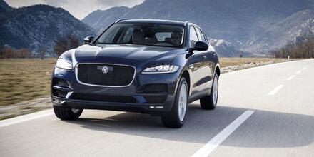 Jaguar wertet den F-Pace ordentlich auf
