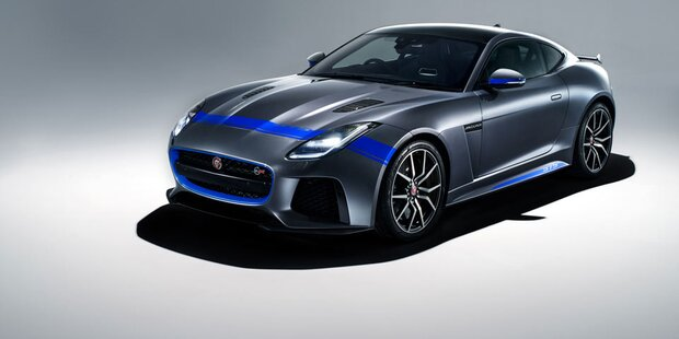 Jaguar macht den F-Type SVR sportlicher