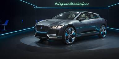 Elektro-Jaguar wird in Graz enthüllt
