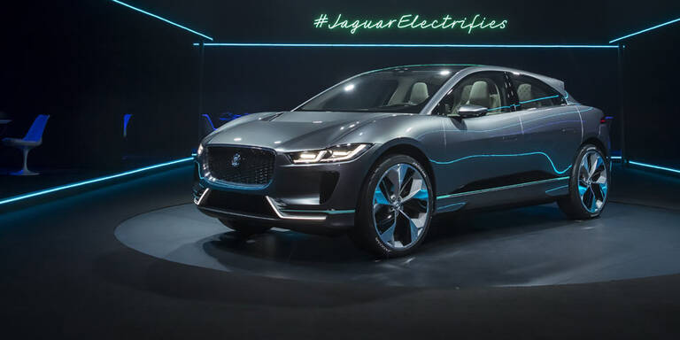 Erster Elektro-Jaguar mit 500 km Reichweite