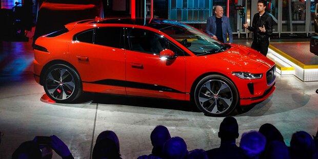 100.000 Jaguar von Magna in Graz gebaut