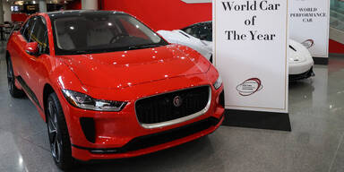 """Jaguar I-Pace ist """"World Car of the Year 2019"""""""