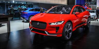 """Elektro-Jaguar """"I-Pace"""" wird in Graz gebaut"""