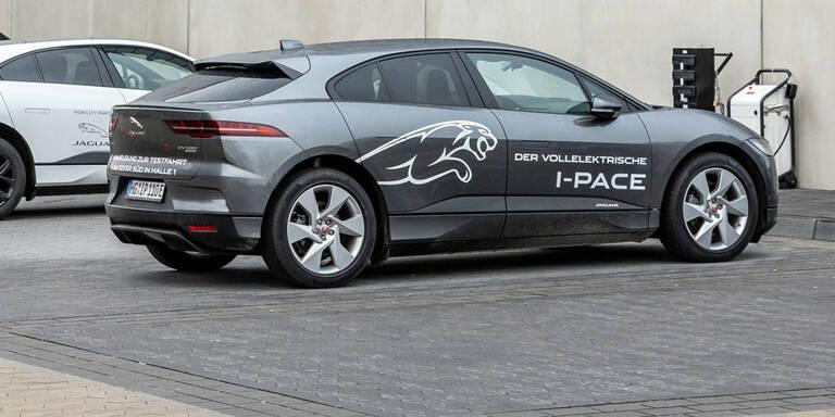 Mehr Reichweite für den Jaguar I-Pace
