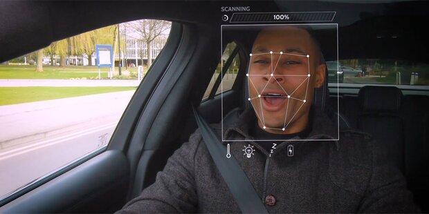 Jaguar Land Rover erkennt Gemütslage des Fahrers