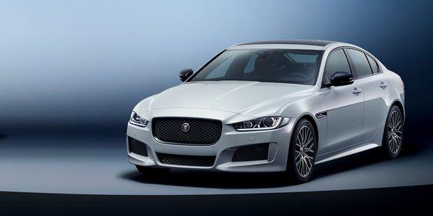 Jaguar XE kommt als Landmark Edition