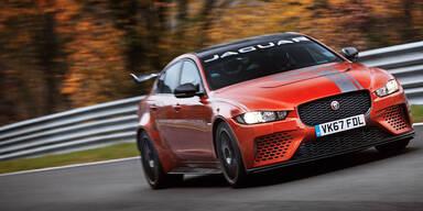 Jaguar XE mit neuem Nordschleifen-Rekord