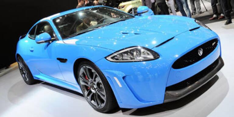 Jaguar XKR-S mit 550 PS