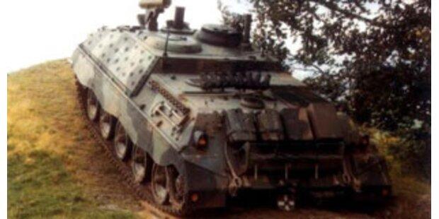 Bundesheer verschrottet kaum gebrauchte Panzer