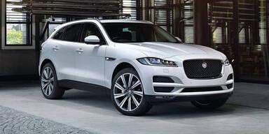 Jaguar F-Pace kommt zum Kampfpreis