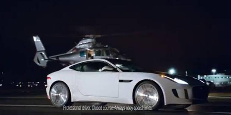 Jaguar setzt voll auf das F-Type Coupé