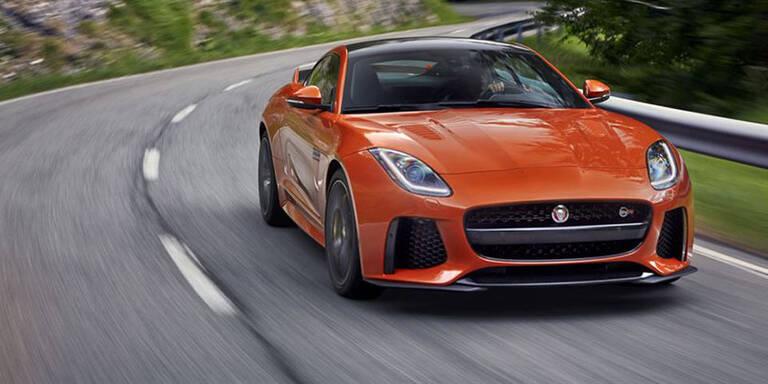 SVR: Jaguar bringt den stärksten F-Type