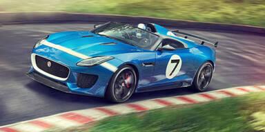"""Jaguar feiert sich mit Prototyp """"Project 7"""""""