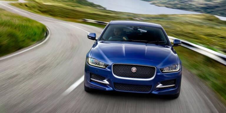 Brandneuer Jaguar XE im Test