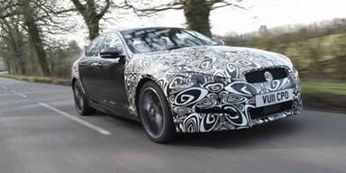 Neuer Diesel & Facelift für den Jaguar XF