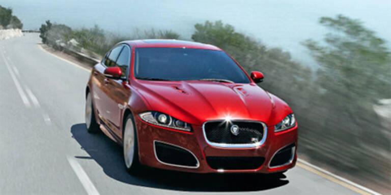 Facelift für den Jaguar XF